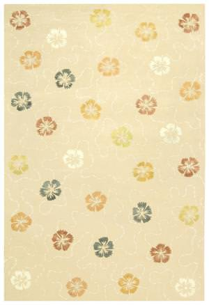 Martha Stewart by Safavieh MSR3267A BLUSH / BEIGE Area Rug