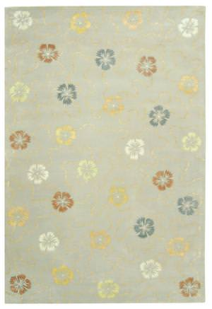 Martha Stewart by Safavieh MSR3267B PEARL / GREY Area Rug