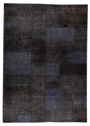 Mat The Basics Lina Dark Blue Area Rug