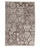 Mat Orange Baroque Antique White/Brown Area Rug