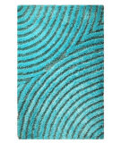 MAT Orange Roca Tweed Aqua Area Rug