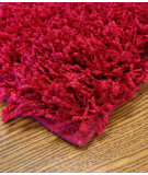 Mayberry Rugs Super Shag Cloud Scarlet Area Rug