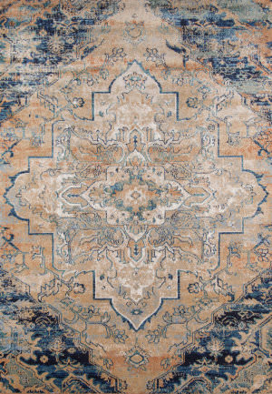 Momeni Amelia Am-03 Navy Area Rug