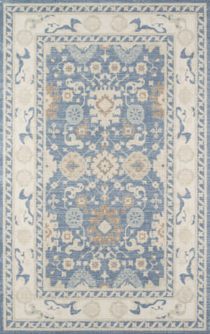 Momeni Anatolia Ana-7 Light Blue Area Rug