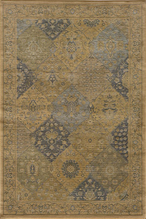 Momeni Belmont Be-01 Blue Area Rug