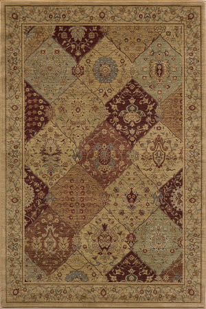 Momeni Belmont Be-01 Burgundy Area Rug