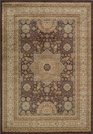 Momeni Belmont Be-03 Brown Area Rug