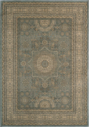 Momeni Belmont Be-03 Light Blue Area Rug