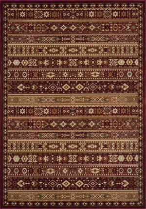 Momeni Belmont Be-04 Red Area Rug