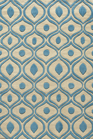 Momeni Bliss Bs-09 Blue Area Rug
