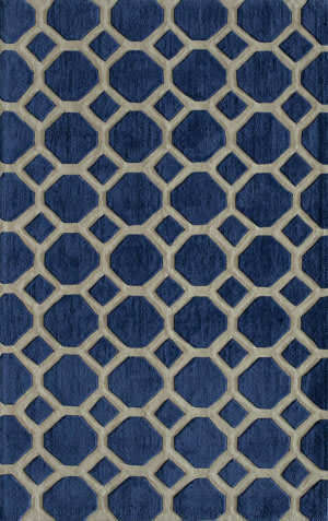 Momeni Bliss Bs-11 Navy Area Rug