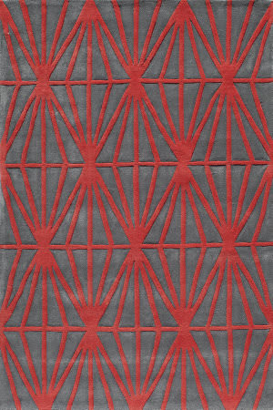 Momeni Bliss Bs-13 Red Area Rug