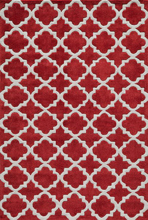 Momeni Bliss Bs-26 Red Area Rug