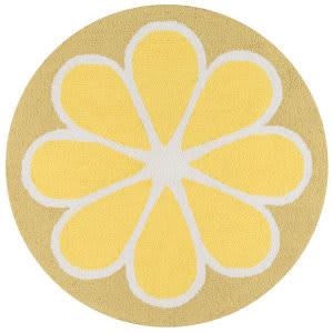 Momeni Novogratz Cucina Cna-1 Yellow Area Rug