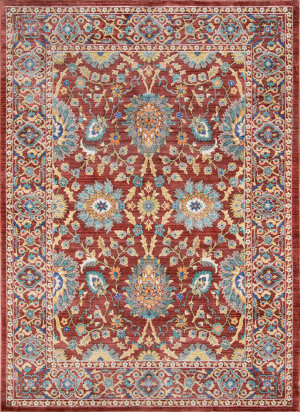 Momeni Cypress Cyp-1 Red Area Rug