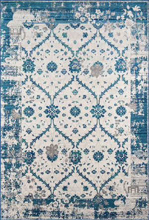 Momeni Dakota Dak16 Blue Area Rug