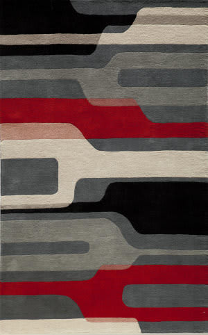 Momeni Delhi Dl-43 Black Area Rug