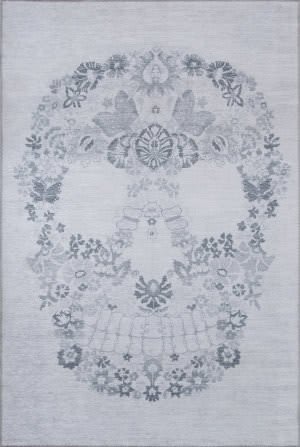 Momeni Novogratz District Dis-1 Grey Area Rug