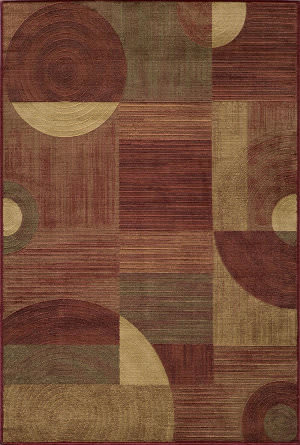 Momeni Dream Dr-01 Red Area Rug