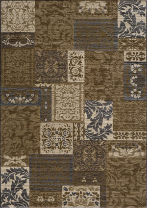 Momeni Dream Dr-51 Brown Area Rug