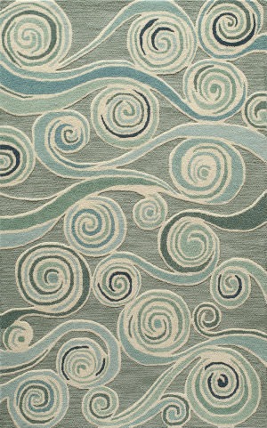 Momeni Dunes Dun-8 Light Blue Area Rug