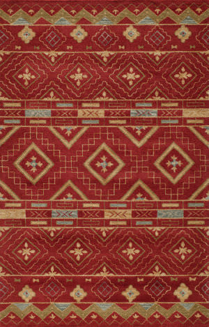 Momeni Habitat Hb-10 Red Area Rug