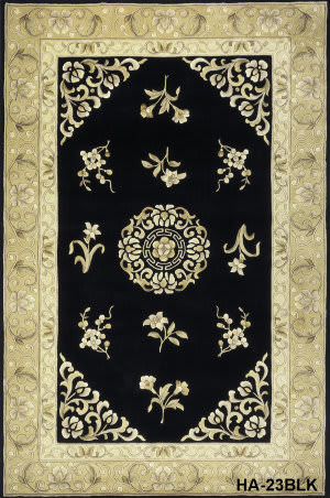 Momeni Harmony Ha-23 Black Area Rug