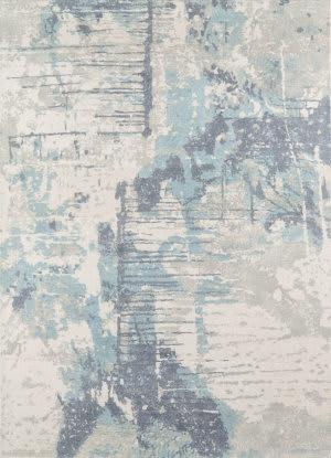 Momeni Illusions IL-04 Blue Area Rug