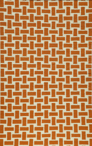 Momeni Laguna Lg-02 Orange Area Rug