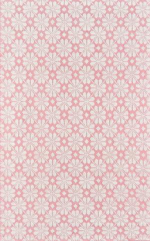 Momeni Lisbon LIS-1 Pink Area Rug