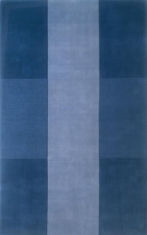 Momeni Metro Mt-07 Light Blue Area Rug