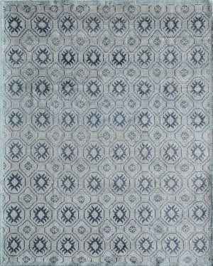 Momeni Nova Nov-4 Blue Area Rug