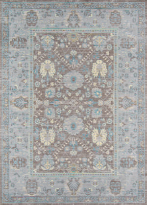 Momeni Petra Pe-04 Dark Grey Area Rug