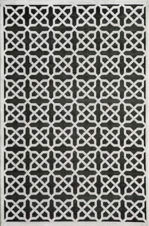 Momeni Platinum Pn-04 Black Area Rug