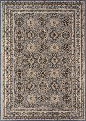 Momeni Royal Ry-01 Grey Area Rug