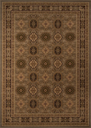 Momeni Royal Ry-01 Slate Area Rug