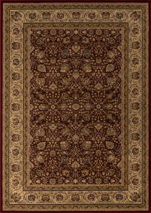Momeni Royal Ry-02 Red Area Rug