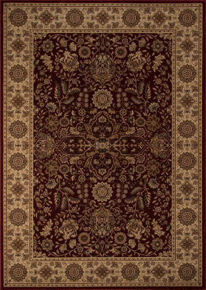 Momeni Royal Ry-03 Red Area Rug