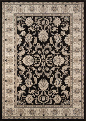Momeni Royal Ry-04 Charcoal Area Rug