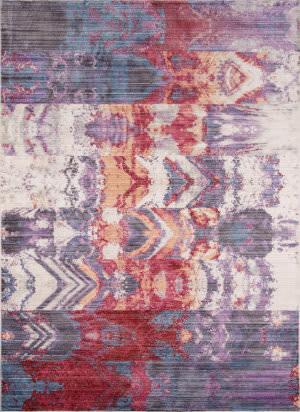 Momeni Rustic Romance Rr-02 Purple Area Rug