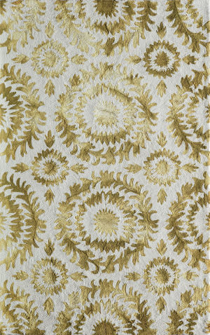 Momeni Serene Sre-3 Yellow Area Rug