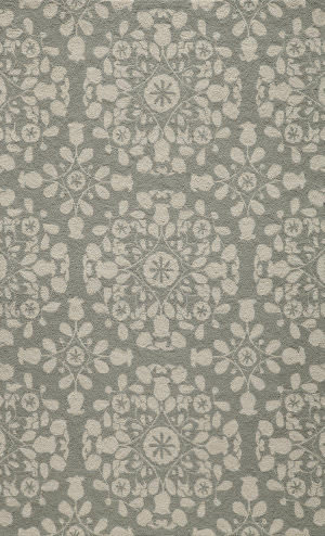 Momeni Suzani Hook Szi-4 Grey Area Rug