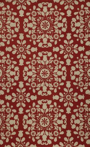 Momeni Suzani Hook Szi-4 Red Area Rug