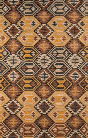 Momeni Tangier Tan18 Black Area Rug