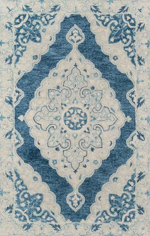 Momeni Tangier TAN36 Blue Area Rug