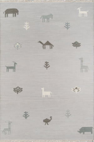 Momeni Thompson by Erin Gates Porter Tho-2 Grey Area Rug