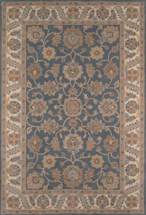 Momeni Tudor Tud-1 Blue Area Rug