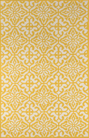 Momeni Veranda Vr-59 Yellow Area Rug