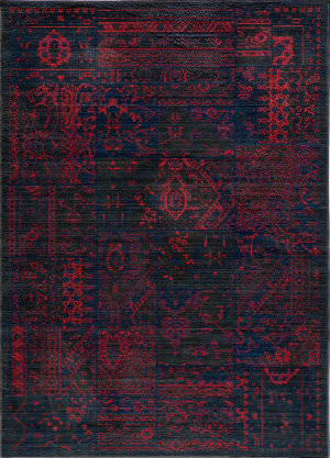 Rugstudio Sample Sale 57503R Raspberry Area Rug