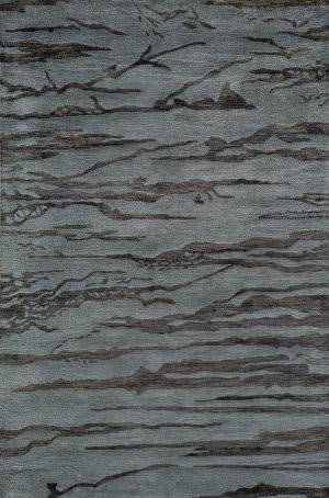 Momeni Zen Zen-2 Slate Area Rug